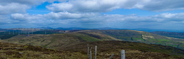 MountainViews.ie Picture about mountain Lackabaun in area Shehy/Knockboy, Ireland