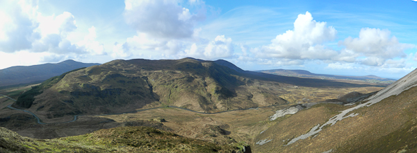MountainViews.ie Picture about mountain Na Leargacha in area Donegal NW, Ireland