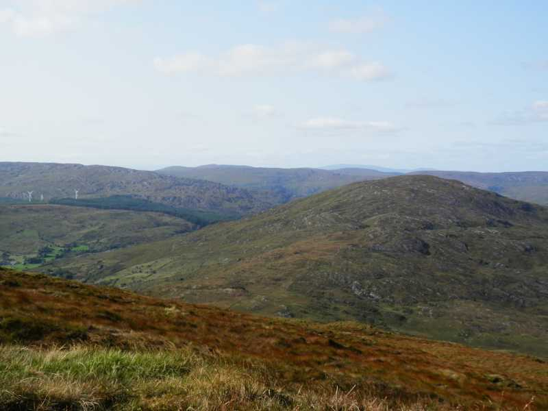 MountainViews.ie Picture about mountain Doughill Mountain in area Shehy/Knockboy, Ireland
