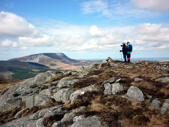MountainViews.ie Picture about mountain Saggartnadooish E Top in area Donegal NW, Ireland