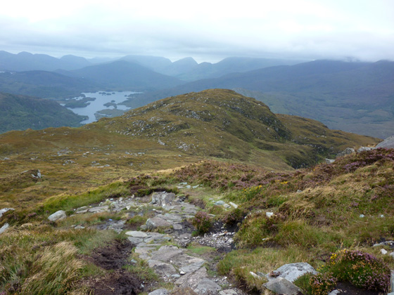 MountainViews.ie Picture about mountain Torc Mountain West Top in area Mangerton, Ireland