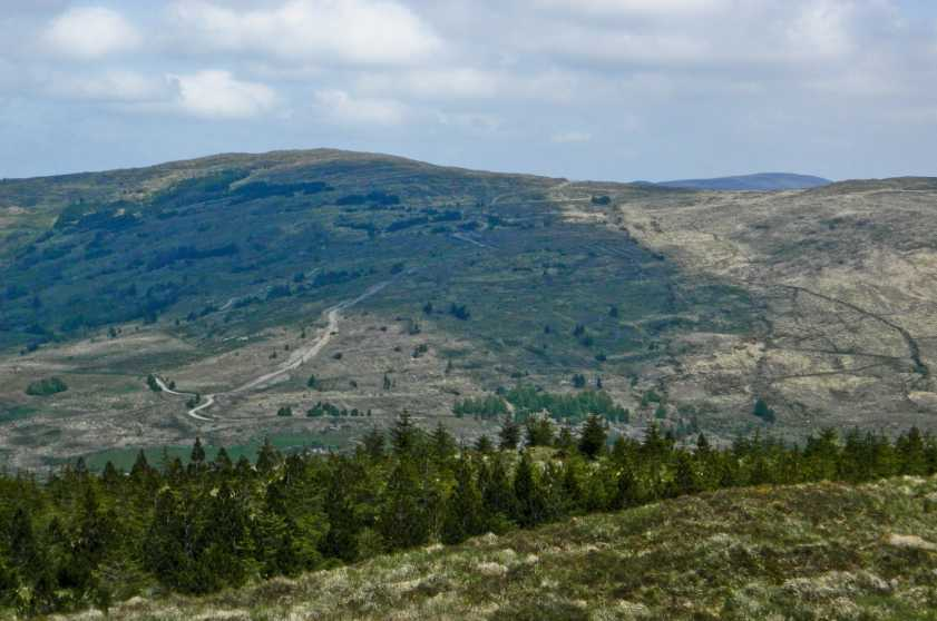 MountainViews.ie Picture about mountain Maughanaclea Hills East Top in area Shehy/Knockboy, Ireland