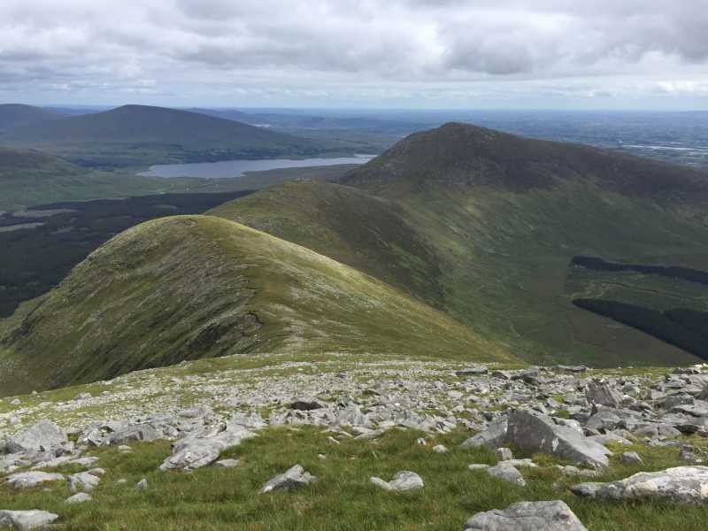 MountainViews.ie Picture about mountain Bengorm NW Top in area North Mayo, Ireland