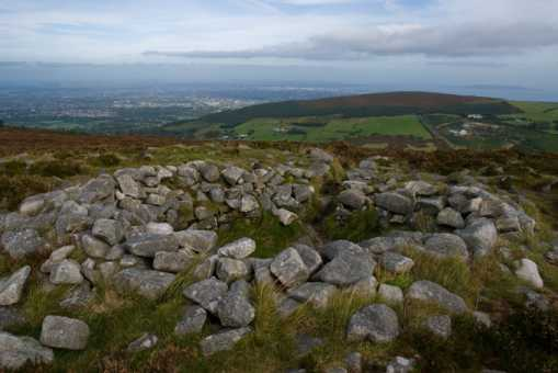 MountainViews.ie Picture about mountain Tibradden Mountain in area Dublin/Wicklow, Ireland