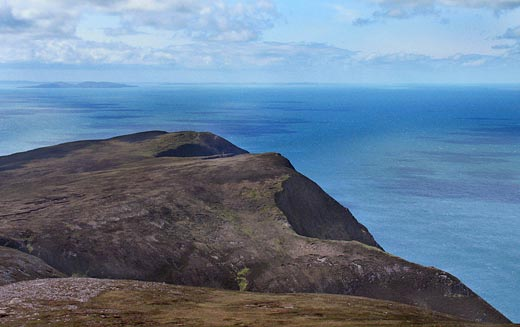 MountainViews.ie Picture about mountain Minaun in area Achill/Corraun, Ireland
