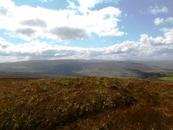 MountainViews.ie Picture about mountain Carntogher in area Sperrin Mountains, Ireland