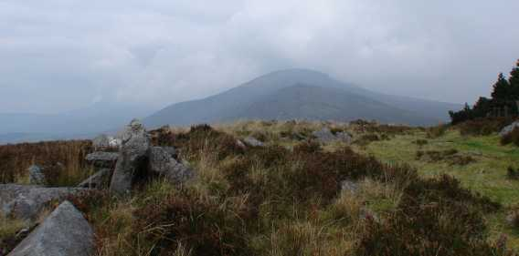 MountainViews.ie Picture about mountain Carrigalachan in area Blackstairs Mountains, Ireland