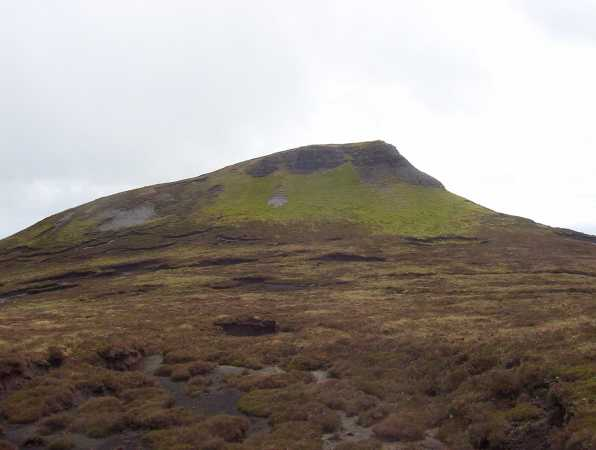 MountainViews.ie Picture about mountain Kings Mountain in area Dartry Mountains, Ireland