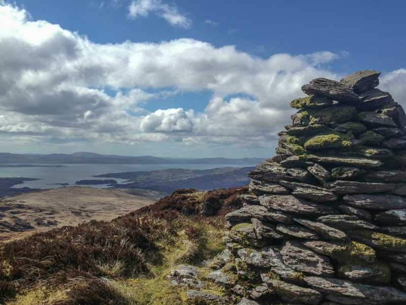 MountainViews.ie Picture about mountain Barraboy Mountain in area Shehy/Knockboy, Ireland