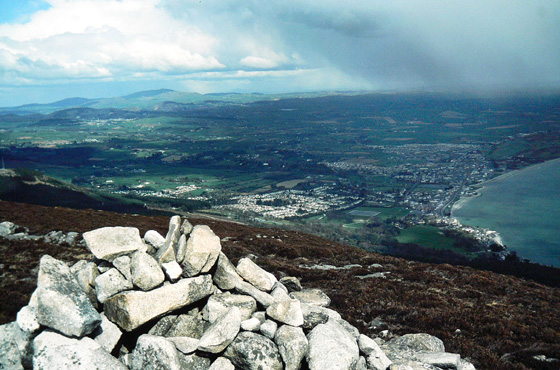 MountainViews.ie Picture about mountain Millstone Mountain in area Mourne Mountains, Ireland