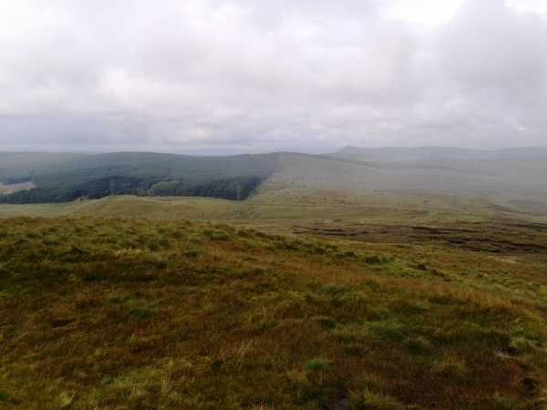 MountainViews.ie Picture about mountain Craigagh Hill in area Sperrin Mountains, Ireland
