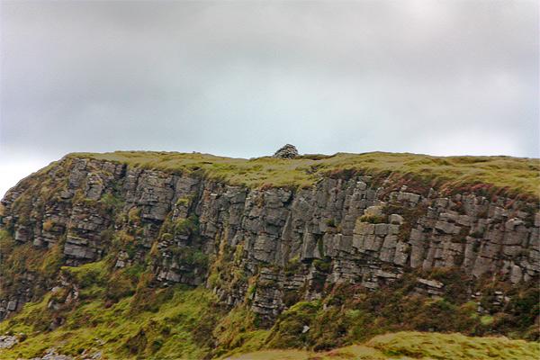 MountainViews.ie Picture about mountain Carran Hill in area Arigna Mountains, Ireland