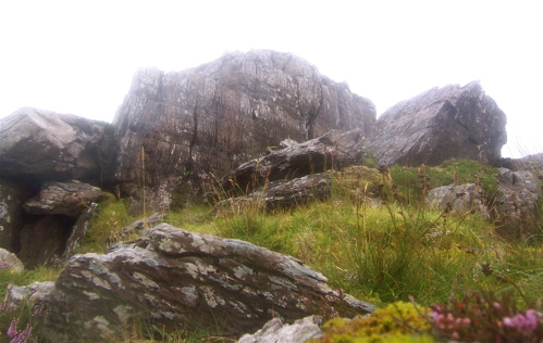 MountainViews.ie Picture about mountain Knocknagapple N W Top in area Glenbeigh Horseshoe, Ireland