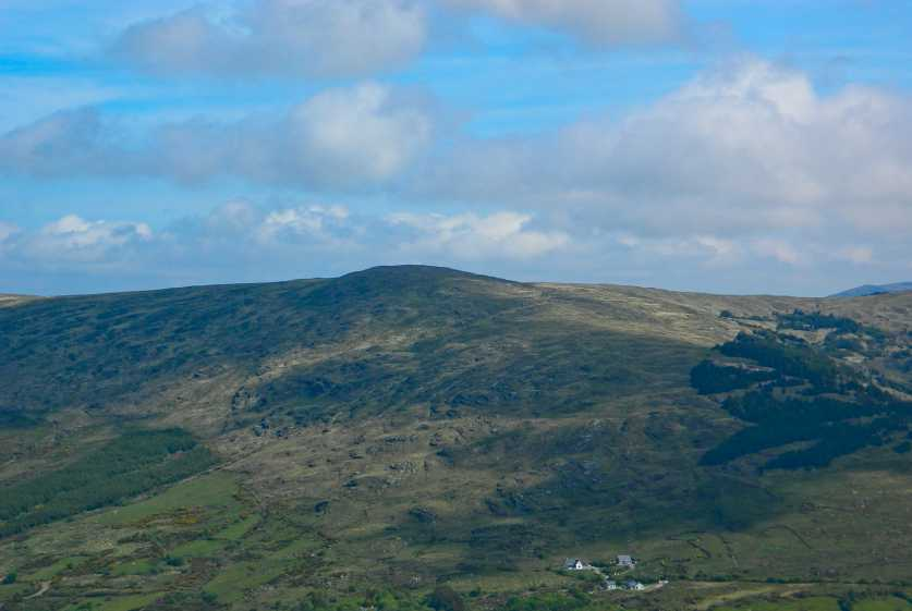MountainViews.ie Picture about mountain Maughanaclea Hills W Top in area Shehy/Knockboy, Ireland