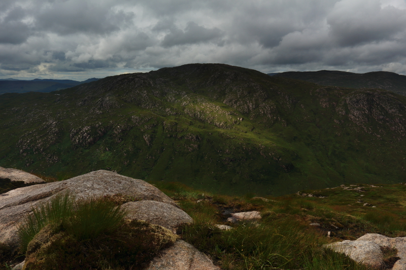 MountainViews.ie Picture about mountain Cruach Eoghanach in area S Donegal/W Tyrone, Ireland