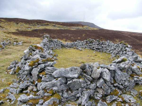 MountainViews.ie Picture about mountain Gortnagarn in area Dartry Mountains, Ireland