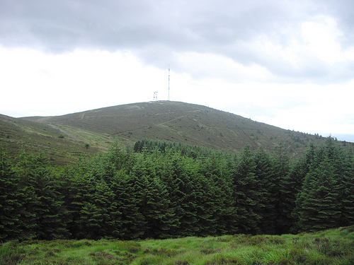 MountainViews.ie Picture about mountain Clermont Carn NE Top in area Cooley/Gullion, Ireland