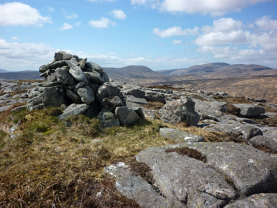 MountainViews.ie Picture about mountain Leahanmore in area Donegal NW, Ireland