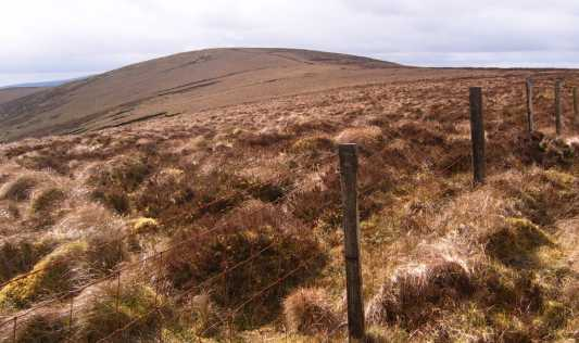 MountainViews.ie Picture about mountain Mullaghbolig in area Sperrin Mountains, Ireland