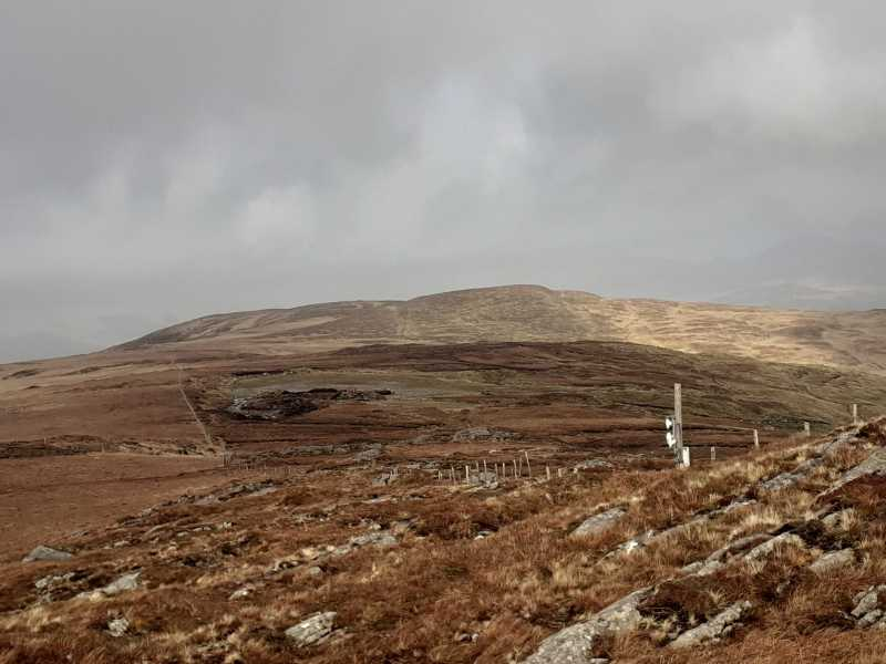 MountainViews.ie Picture about mountain Knockbrack (<i>An Cnoc Breac</i>) in area West Cork Mountains, Ireland
