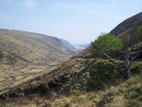 MountainViews.ie Picture about mountain Crockmulroney in area Donegal NW, Ireland
