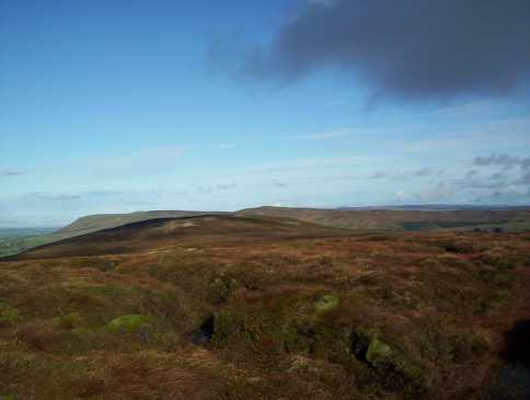 MountainViews.ie Picture about mountain Corick Mountain in area Sperrin Mountains, Ireland