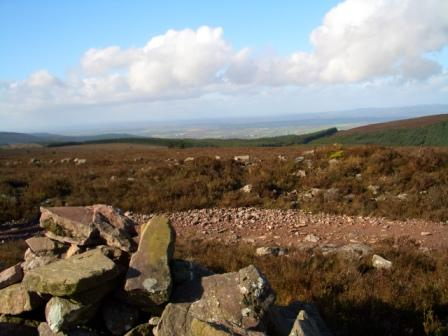 MountainViews.ie Picture about mountain Knocknaskagh in area Nagles Mountains, Ireland