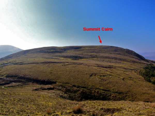MountainViews.ie Picture about mountain Mount Eagle in area North Mayo, Ireland