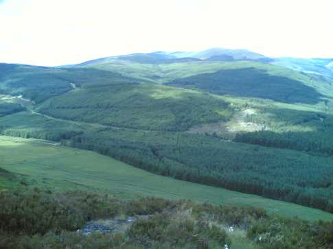 MountainViews.ie Picture about mountain Fananierin in area Dublin/Wicklow, Ireland