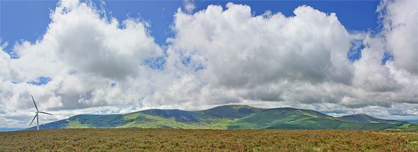 MountainViews.ie Picture about mountain Greenoge in area Blackstairs Mountains, Ireland
