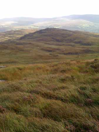 MountainViews.ie Picture about mountain Carrigawaddra in area Mangerton, Ireland