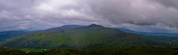MountainViews.ie Picture about mountain Coolcurtoga in area Paps/Derrynasaggart, Ireland