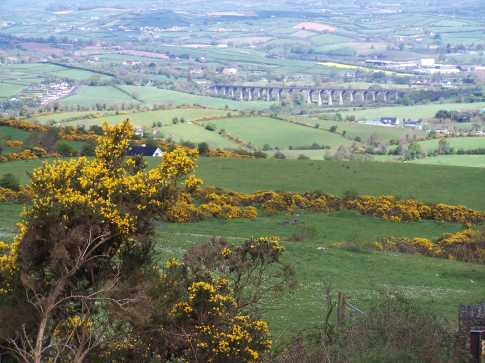 MountainViews.ie Picture about mountain Camlough Mountain in area Cooley/Gullion, Ireland