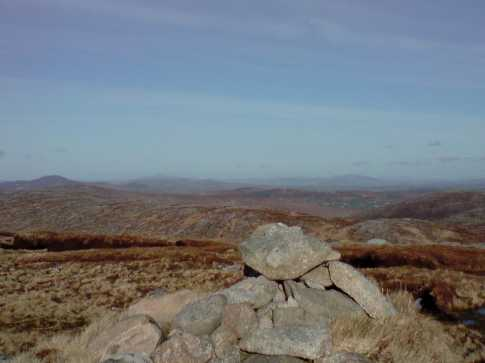 MountainViews.ie Picture about mountain Farscallop (<i>Fáir Scoilb</i>) in area Donegal NW, Ireland