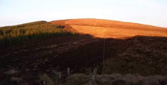 MountainViews.ie Picture about mountain Spaltindoagh in area Sperrin Mountains, Ireland