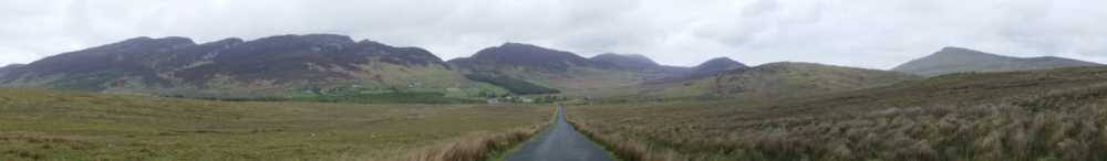 MountainViews.ie Picture about mountain Urris Hills in area Inishowen, Ireland