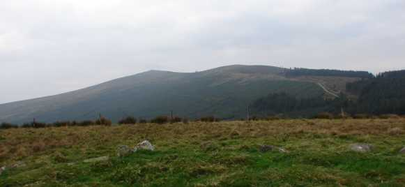 MountainViews.ie Picture about mountain Slievefoore in area Dublin/Wicklow, Ireland