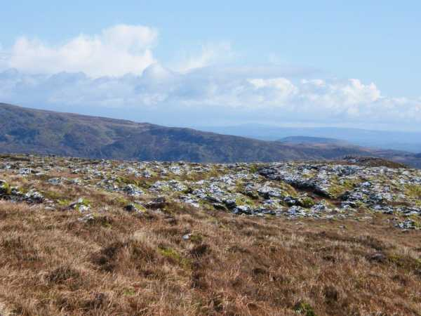 MountainViews.ie Picture about mountain Largan Hill in area Ox Mountains, Ireland