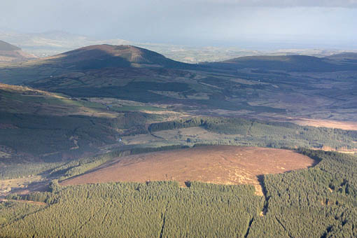 MountainViews.ie Picture about mountain Knockane in area Shannon, Ireland