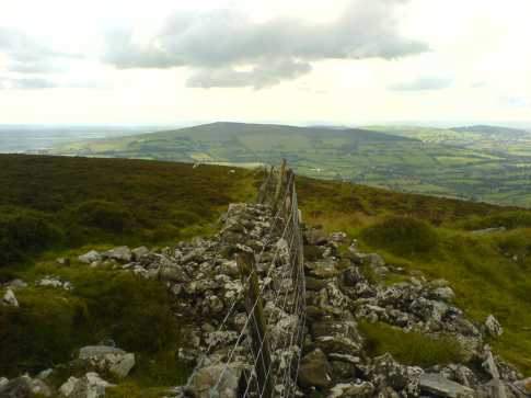 MountainViews.ie Picture about mountain Spinans Hill in area Dublin/Wicklow, Ireland