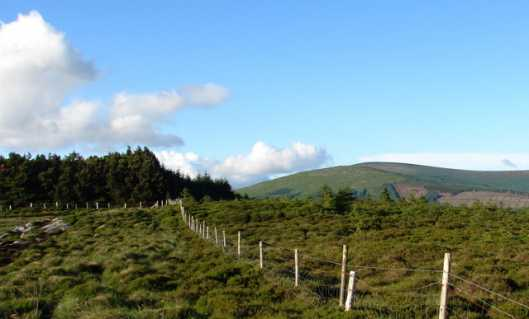 MountainViews.ie Picture about mountain Carrigleitrim in area Dublin/Wicklow, Ireland