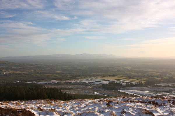 MountainViews.ie Picture about mountain Slieve Felim S Top in area Shannon, Ireland