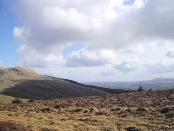 MountainViews.ie Picture about mountain Crockalougha in area Sperrin Mountains, Ireland