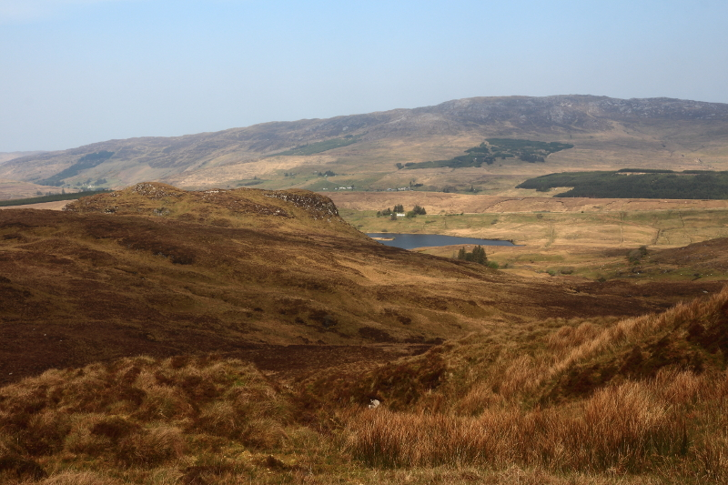 MountainViews.ie Picture about mountain An Leathchruach in area Bluestack Mountains, Ireland