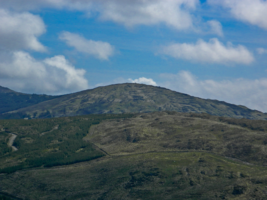 MountainViews.ie Picture about mountain Nowen Hill Far W Top in area Shehy/Knockboy, Ireland