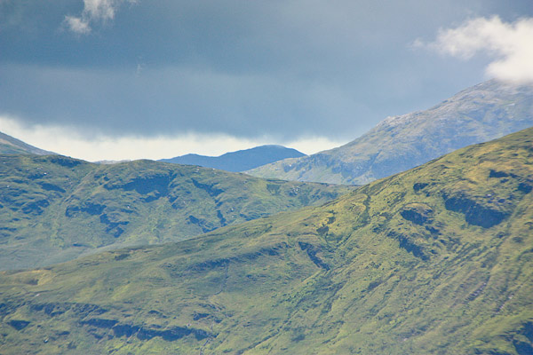 MountainViews.ie Picture about mountain Cnoc Lios Uachtair in area Maamturks, Ireland