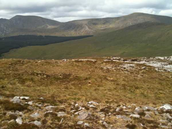 MountainViews.ie Picture about mountain Tirkslieve in area North Mayo, Ireland