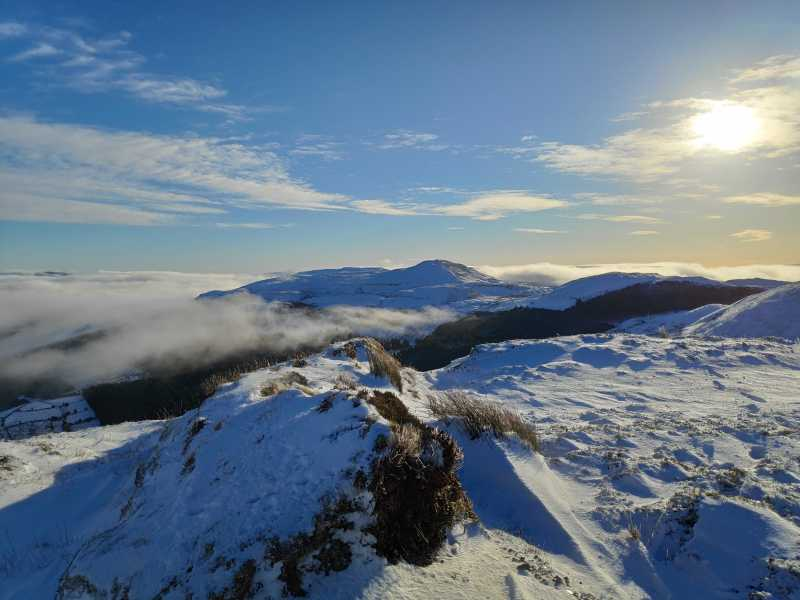 MountainViews.ie Picture about mountain Hangmans Hill in area Dartry Mountains, Ireland