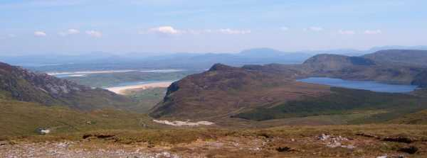 MountainViews.ie Picture about mountain Crockuna (<i>Cnoc Onna</i>) in area Donegal SW, Ireland