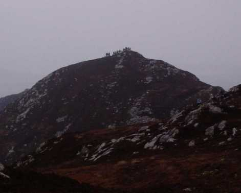 MountainViews.ie Picture about mountain Croaghcarragh in area Inishowen, Ireland